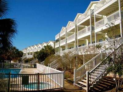 Photo for Dolphin Tales: 4BR Townhouse with Gulfviews, Pools, Tennis, Wi-Fi - Sleeps 15!