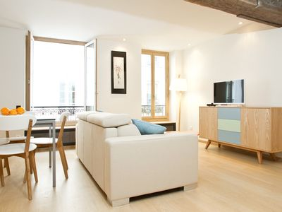Photo for BEAUTIFUL 1 BR FLAT NEXT TO MARCHÉ SAINT GERMAIN