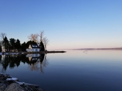 Photo for The Little Lake House - Private/Secluded Pennisula - Lake Winnebago