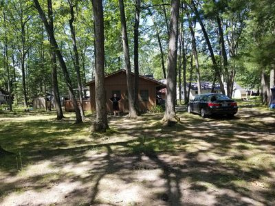 Photo for 2 Bedroom, 1 bath Cabin with Budd Lake Access, just off the water