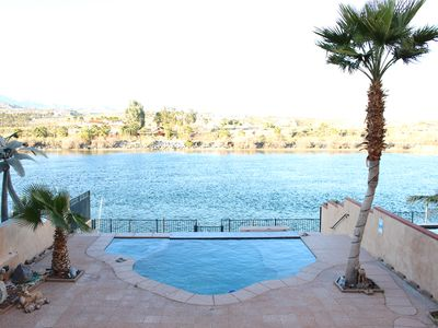 Photo for Riverfront! Bullhead City/ Laughlin Pool And Dock!!!