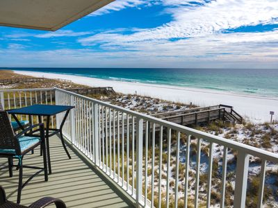 Photo for Incredible Ocean Views From 2 Balconies! Free Lazy Days Beach Chairs & Umbrella