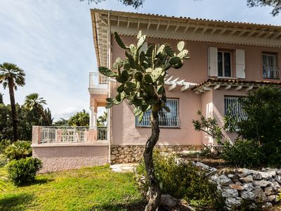 Photo for Wonderful Belle Epoque Villa with panoramic sea view.