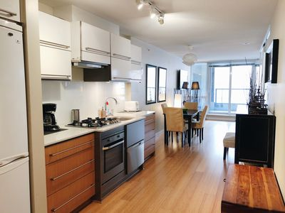 Photo for NEW! Beautiful 1/BR Apartment in downtown Vancouver