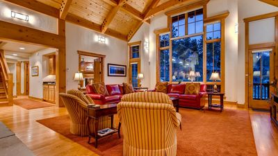 Photo for Timber Trail Lodge: Hot Tub, Private Shuttle, Pool Table, Sauna