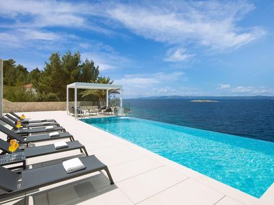 Photo for Luxury Villa Palma de Korkyra with Infinity Pool