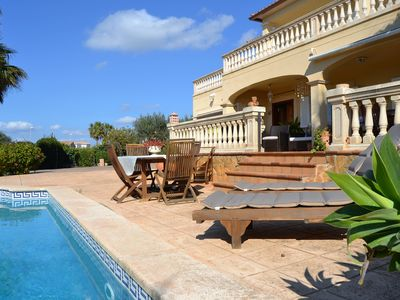 Photo for MAGNIFICENT VILLA WITH SEA AND MOUNTAIN IDEAL FOR FAMILIES WITH POOL