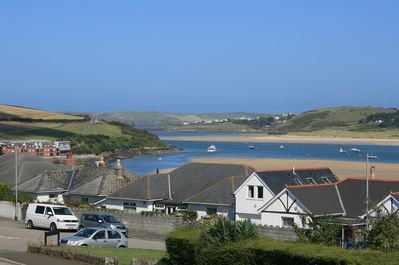 View to Padstow harbour from the front rooms.