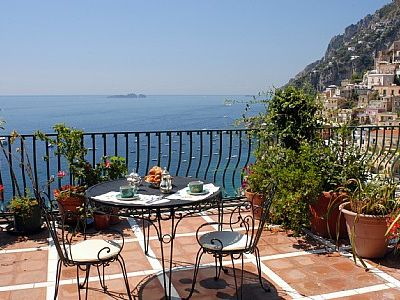 Photo for One bedroom Villa, sleeps 2 in Positano with Air Con and WiFi