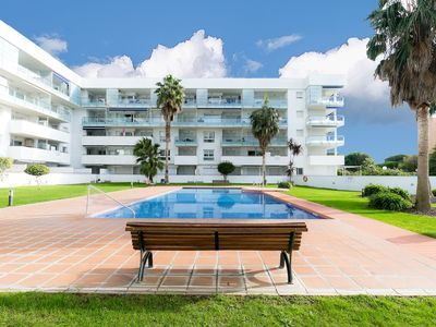 Photo for <![CDATA[Beautiful apartment in Santa Margarita (Roses) with pool and parking. Ideal families.]]>