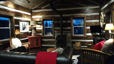 Rustic Lodge Style Cabin located in the Beautiful Flathead Valley