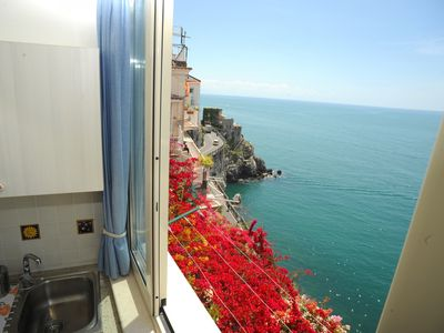 Photo for 1BR Apartment Vacation Rental in Amalfi, Salerno