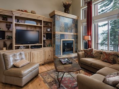 Photo for Luxury Ski In/Out townhome on Creek - Great Views