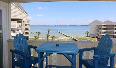 Photo for Two Bedroom/Two Bathroom with Gulf and Bay Views - Great Location
