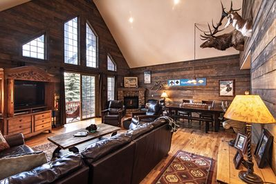 Your mountain cabin awaits. Beautiful great room