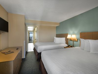 Photo for Oceanfront Deluxe Executive Suite w Balcony + Official On-Site Rental Privileges