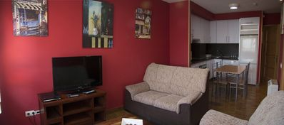 Photo for Spacious Collado 1B apartment in Collado Mediano with WiFi.