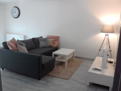 Photo for Superb apartment in the heart of Chartrons with secure parking below.