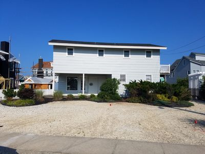 Photo for Beach Block! Just 6 homes from  the beach and across from the quiet and pristine bird sanctuary.