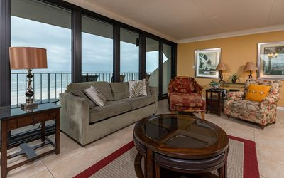 Photo for 5th Floor ~ Popular 3 BR ~ GULF FRONT Condo at Island Winds East