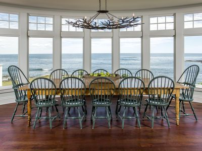 Photo for Awe Inspiring Furnished Oceanfront 4 Bedroom 4 Bath Home in Cape Elizabeth