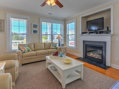 Photo for Clam Shell #6: Luxurious 2 bed, 2.5 bath condo w/pool, just steps to the beach