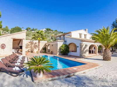 Photo for 3 bedroom Villa, sleeps 6 in Benissa with Pool and Air Con