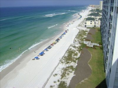 Photo for Best view of the beach at Shoreline Towers on 11th