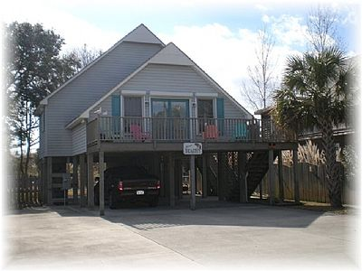 Photo for Just Beachy Spartanburg: 3 BR / 2 BA house in Carolina Beach, Sleeps 8