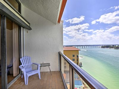 Photo for NEW! Clearwater Beach Penthouse w/ 2 Balconies!