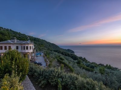 Photo for 5BR Villa Vacation Rental in Τσαγκαράδα