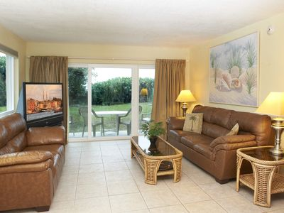 Photo for Spacious – Ground floor right on the Beach!