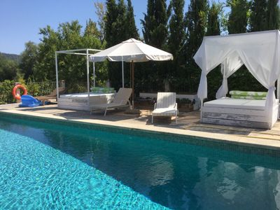 Photo for Country estate  with private pool and olive grove  near Campanet