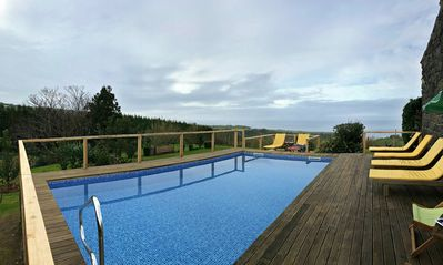 Photo for BEAUTIFUL RURAL HOUSE WITH A NICE GARDEN, POOL AND AMAZING ASTONISHING VIEWS