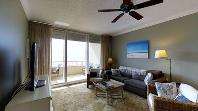 Photo for Remarkable Large Patio with Inviting View Of The Breathtaking Gulf! Doral 406