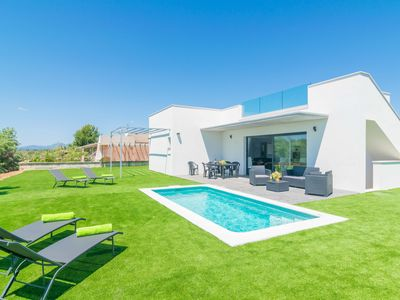Photo for VILLA LEONOR - Villa with private pool in Platges De Muro.