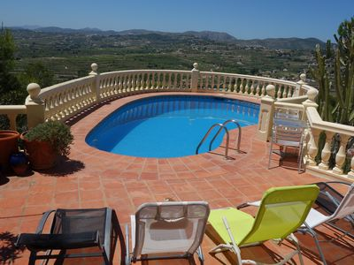 Photo for Great family 3 Storey Holiday Villa in Moraira, Fantastic views, private pool