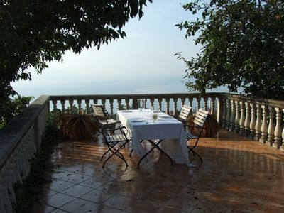 Photo for Cottage on the Mediterranean