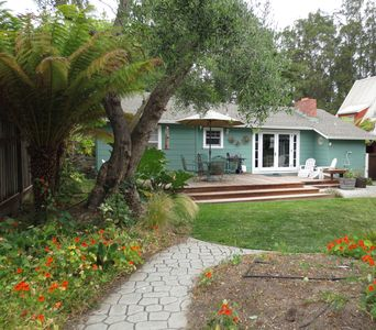 Photo for Charming Dog Friendly Beach Cottage with expansive back yard