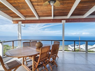 Photo for New Listing! Panoramic Coastline Views In a Creative Tri Level Home