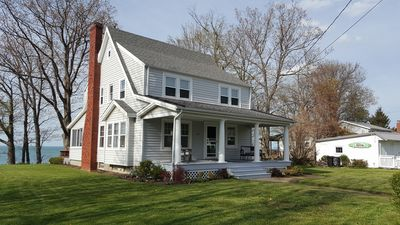 Photo for Betty's Beach House; Beautiful Lakefront Retreat-Picturesque Views Of Lake Erie