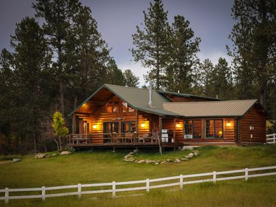 Photo for Absolutely Peaceful Black Hills Log Home on 17 Acres