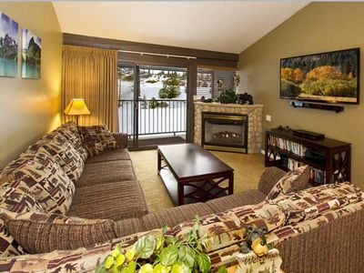 Photo for BEAUTIFUL 2 BD/2 BA STEPS FROM CANYON LODGE LIFTS!