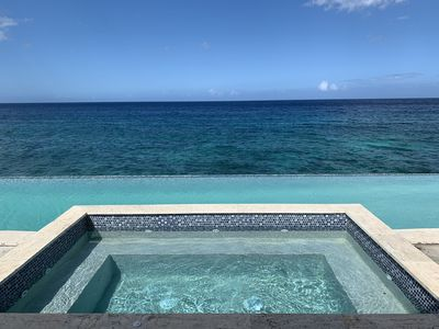 Photo for Introductory Rate Near Negril - Sparkling Waters: Luxury Ocean Front Villa