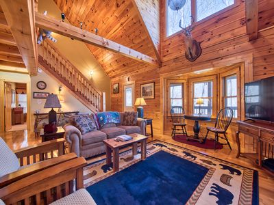Photo for Tess Cabin in Gated Smoky Mountain Retreat Community