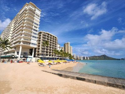 Photo for Luxury Waikiki beachfront for 2. Waikiki Shore!
