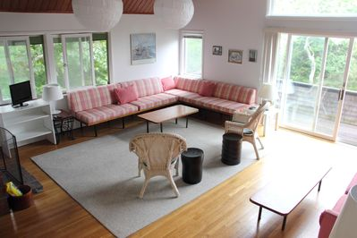 Living Room viewed from Entrance Foyer