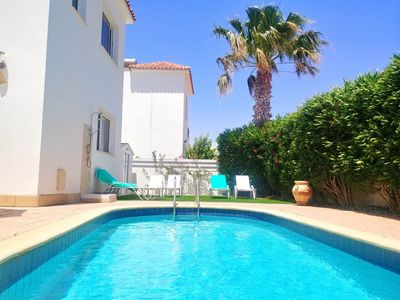 Photo for Beach Villa Golden Palms - Ayia Thekla Beach