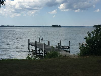 House on Cayuga Lake with lakefront and great view
