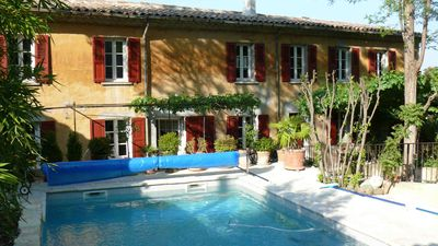 Photo for Beautiful Provencal Bastide in the heart of the vineyards near Aix / Cassis / Marseille